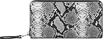 Gianni Chiarini large size python wallet color gray