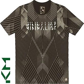KOHMAR Camiseta Manga Curta Estampa Minimalista- Kohmar