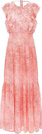 Michael Michael Kors Patterned Dress Womens Pink