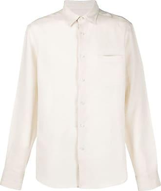 Peninsula Camisa com abotoamento simples de linho - Neutro