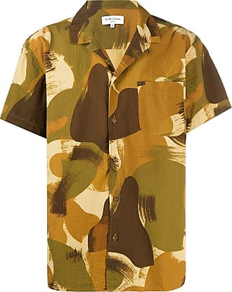 Ymc You Must Create camouflage casual shirt - Green