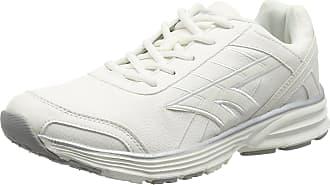 Hi-Tec Mens Haraka XT Lux Fitness Shoes, White (White/Silver 011), 10 UK 44 EU