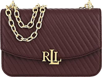 Lauren Ralph Lauren Cross Body Bags - Madison Crossbody Medium Bordeaux - red - Cross Body Bags for ladies