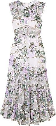 Alice McCall Alice Mccall Woman Oh So Lovely Floral-print Mesh Midi Dress Lavender Size 10