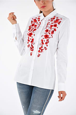 Ermanno Scervino Blouse With Floreal Embroidered size 42