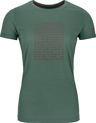 Ortovox 150 Cool Rules Tech Tee green forrest