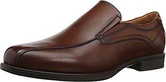 Florsheim Mens Medfield Bike Toe Slip Loafer Dress Shoe, Cognac, 9.5 Medium