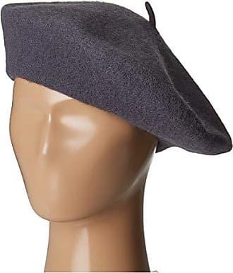 bdd8f3b0ffd421 San Diego Hat Company WFB2006 Wool Felt Beret (Charcoal) Berets