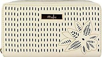 Le Postiche Carteira Feminina Laser Cut, Marfim - Le Postiche