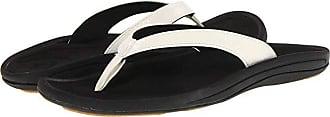 Olukai Kulapa Kai W (White/Black) Womens Sandals