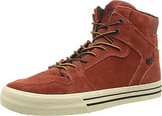 uk availability 1d754 9c620 Supra VAIDER, Unisex Adults Hi-Top Sneakers, Red (burnt Henna   Bone