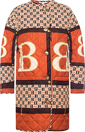 Burberry Patterned Coat Womens Multicolour