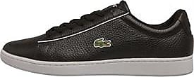 Lacoste low profile leather trainers