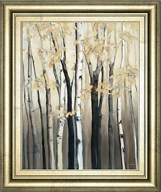Classy Art Golden Birch I Framed Wall Art - 8273