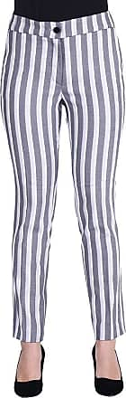 MySocks Regular Tailored Trousers Grey White Stripe