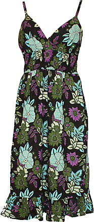 River Island Black Floral Print Dress_14