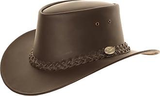 Stetson Mens Hollywood Western Cowboy Hat Waterproof Wool Felt Crushable Brown