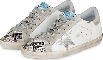 Golden Goose Sneaker SUPERSTAR - GRAU/ WEISS/ SCHWARZ