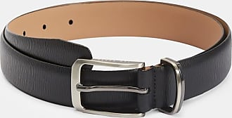 Ted Baker Leather Belt in Black OLIVIO, Mens Accessories