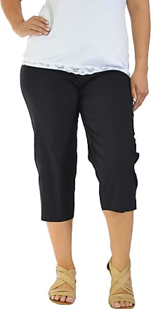 Nouvelle Collection Cropped Bengaline Embroided Trousers Black Xx-Large