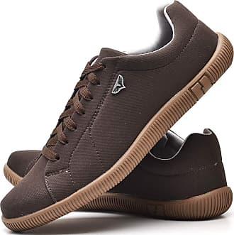 Juilli Sapatênis Sapato Casual Com Cadarço Masculino JUILLI 920DB Tamanho:40;cor:Marrom;gênero:Masculino