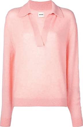 Khaite Suéter decote em V - Rosa