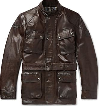 80e3bab67c Belstaff® Leather Jackets − Sale: up to −66% | Stylight
