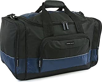 Perry Ellis 22 Business Duffel Bag, Black/Navy