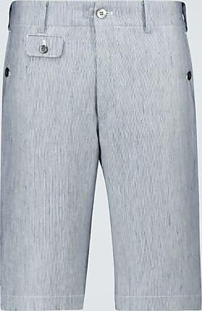 Junya Watanabe Straight-fit linen-blend shorts