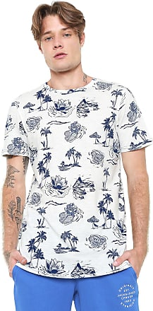Jack & Jones Camiseta Jack & Jones Estampada Branca