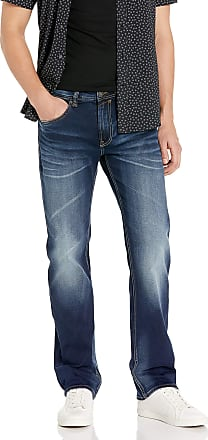 Buffalo David Bitton mensBM19700Driven Straight Leg Jean Jeans - Blue - 33W x 32L