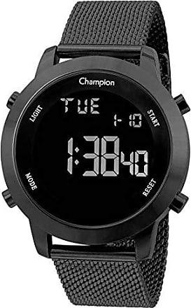 Champion Relógio Digital Masculino Champion LCD Preto CH40062C