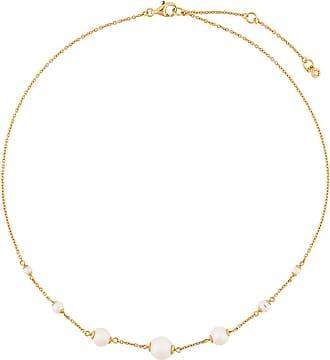 Astley Clarke Colar Peggy banhado a ouro 18kt - Metálico