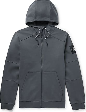 The North Face Fine 2 Cotton-jersey Zip-up Hoodie - Gray