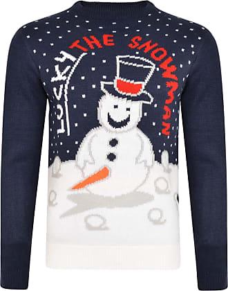 Shelikes Mens Slogan Ugly Christmas Jumper Novelty Chicken Dinner Turkey Soft Jumper Knitwear Top