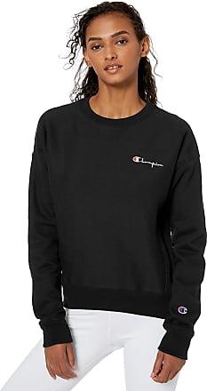 Champion LIFE Womens Reverse Weave Crew Tossed C Logo