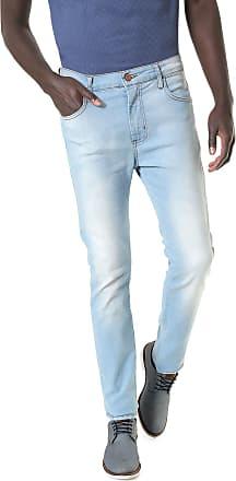 a55c9c8d50 Sommer Calça Jeans Sommer Slim Alan Azul