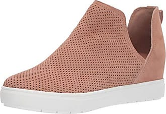 75fded3e3a1 Steven by Steve Madden Womens CANARES-P Sneaker Nude Suede 10 M US