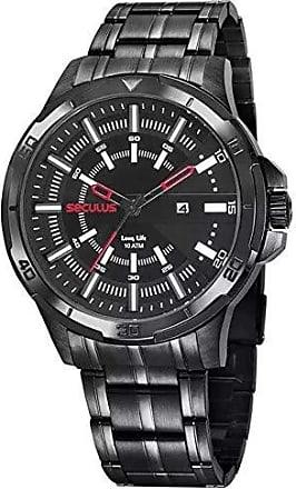 Seculus Relógio Seculus Masculino Ref: 20746gpsvpa1 Esportivo Black