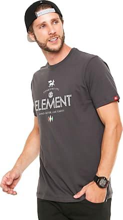 Element Camiseta Element Lion Cinza