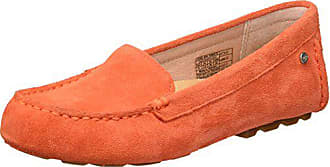 UGG Womens Milana Loafer Flat, red/Orange, 5 M US