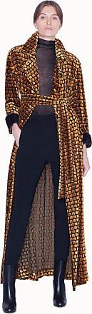 Akris Silk Velvet Devoré Coat