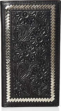 Ariat Ariat Unisex-Adults Steel Lace Floral Rodeo Wallet, black