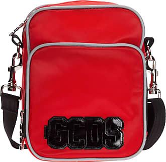 GCDS men crossbody bags rosso