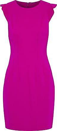 Elie Tahari Elie Tahari Woman Stefana Ponte Mini Dress Fuchsia Size 8