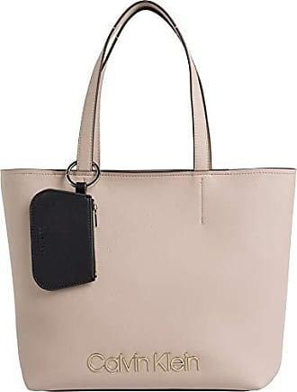 327f2bbdd6 Calvin Klein Ck Must Med Shopper - Borse Tote Donna, Rosa (Nude),