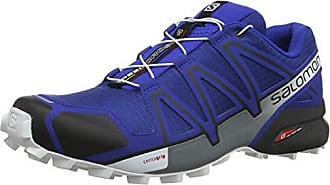 Salomon Speedcross 4, Chaussures de Randonnée Homme, NoirJaune (BlackEvergladeSulphur Spring), 43 13 EU