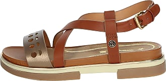 Wrangler Womens Leather Sandal Wl01573a Brown Size: 7 UK
