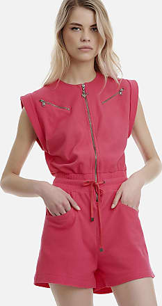 Sugarfree Fuschia cotton romper