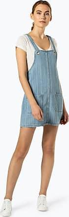 dahuo Damen Casual Elegant Cowboy Kleider Jeans Kleid Denim Kleider